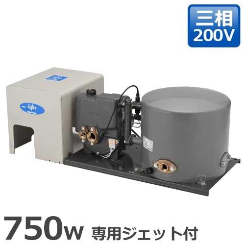 テラル多久 深井戸ポンプ KP-3755LT/KP-3756LT (専用ジェット付/自動式/三相200V750W)