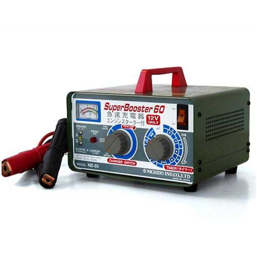 日動 高性能充電器 高性能充電器 NB-60 NB-60 (充電電流切替 日動・タイマー機能付) [バッテリーチャージャー], Hana momo:de2b5aa2 --- sunward.msk.ru