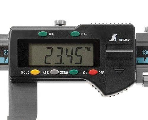 SHINWA测量数码游标卡尺19987(从属于持有功能的/测量范围:0.01-600mm)[r20]