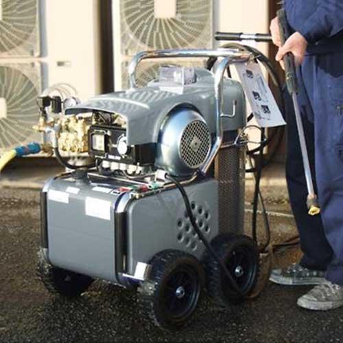 マーテック 温水スチーム高圧洗浄機 MTH-1515MS (150キロ/三相200V)