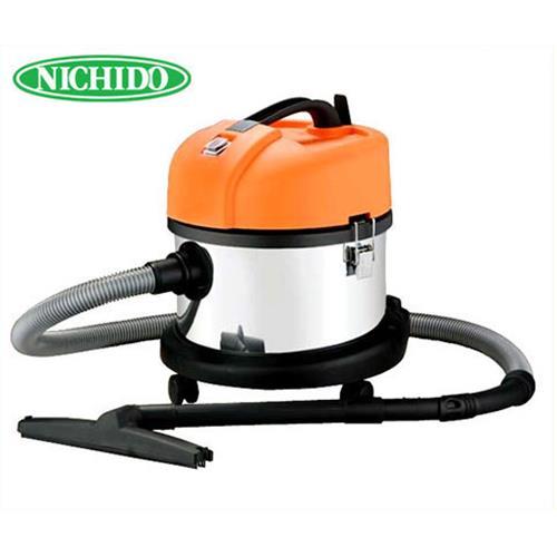 [最大1000円OFFクーポン] 日動 業務用掃除機 バキュームクリーナー NVC-15L-S (乾湿両用)