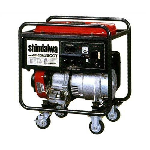 新ダイワ(やまびこ) 小型三相発電機 三相200V4.1KVA(EGR4100T)60Hz用