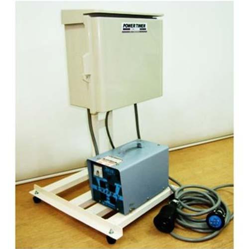 ミナト 24時間パワータイマー (三相200V/100V) 《ダウントランスSTV-3000付きセット》