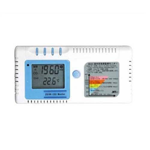 マザーツール CO2Plus温度モニター(ZG106) オフィスなど室内空気の質を管理