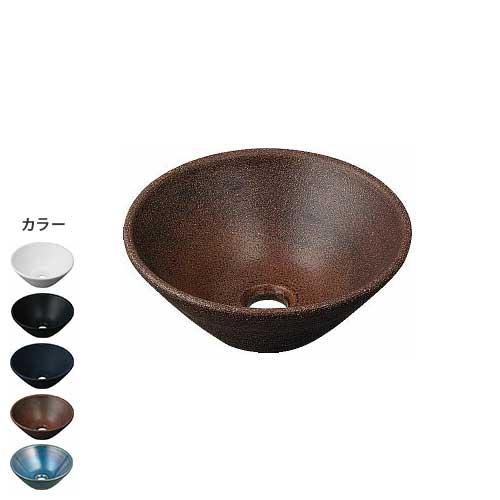 焼き物手洗器 丸型