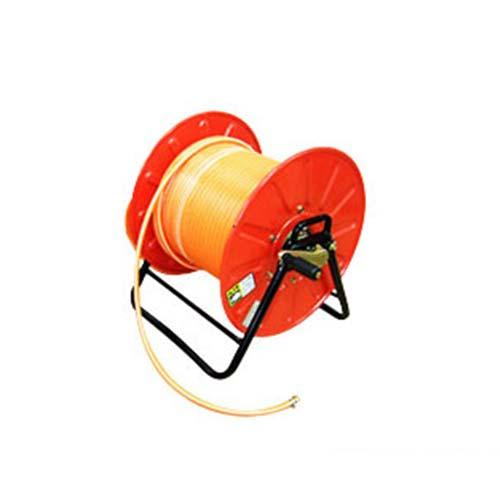 国内送料無料 個人宛別途送料 巻取り機 r12 s4-040 高圧スプレー用ホースリール 選択 防除ホース30m巻セット 組立済み出荷 スチール製