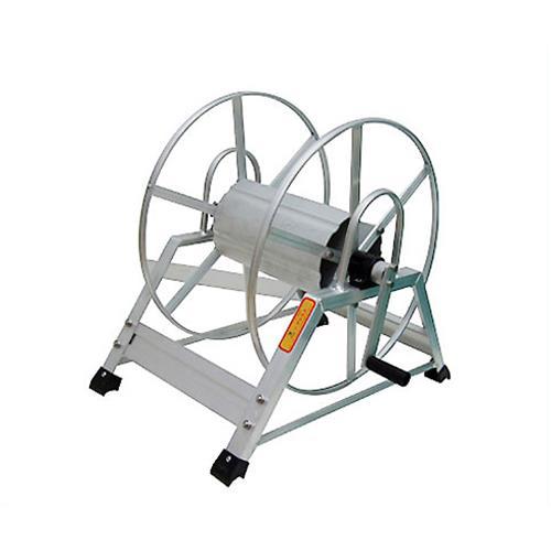 アルミ製 高圧スプレーホース用ホースリール 20~50m用 (ホース無し) [巻取り機]
