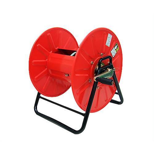 スチール製 高圧スプレーホース用ホースリール (20~50m用/ホース無し) [巻取り機 高圧ホース]