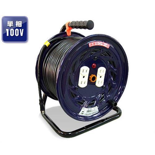 [最大1000円OFFクーポン] 日動 電工ドラム NF-504D (VCT2.0-22A×50m) [コードリール]