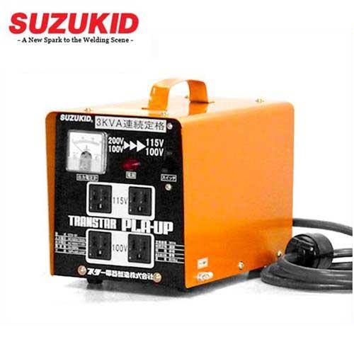 スズキッド 昇圧・降圧兼用トランス STX-01 [スター電器 SUZUKID 変圧器 アップ ダウン トランス]