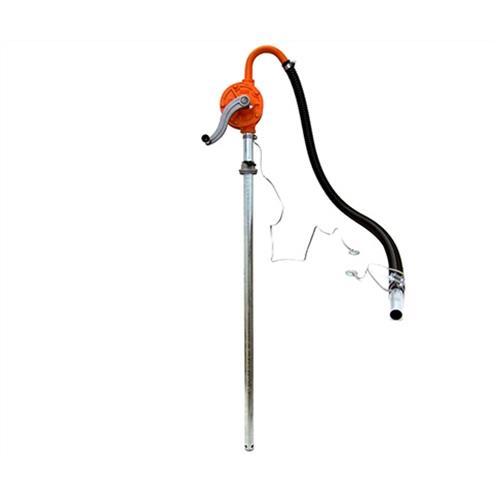 アクアシステム ガソリン用 手回しドラムポンプ HR-25G (アースコード付き/ガソリン・灯油・軽油対応)