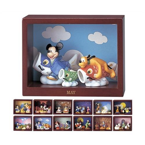 【取扱終了】ディズニー マンスリーフィギュア 『ミッキー&フレンズ』 《12ヶ月分セット》