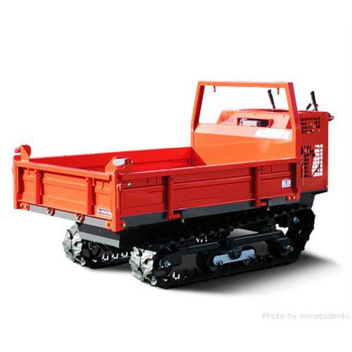 新品登場 ヤマグチ 動力運搬車] ヤマグチ クローラー運搬車 AM55DX-1 [エンジン式 (積載500kg/復動油圧ダンプ/三方開閉式ドア) [エンジン式 動力運搬車], 超本人:99d7af12 --- esef.localized.me