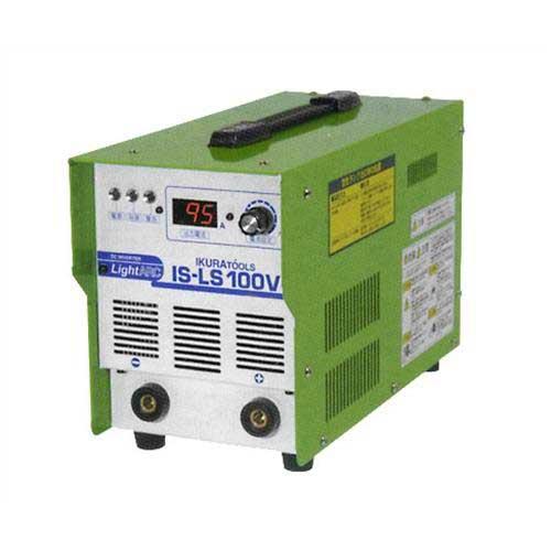 イクラ 直流アーク溶接機 IS-LS100V (100V/インバーター制御/電撃防止機能付き)