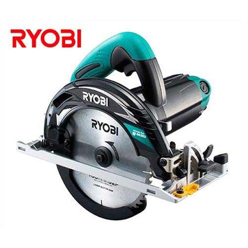 リョービ 電子丸ノコ W-663ED (100V/最大切込深さ66mm) 611020A