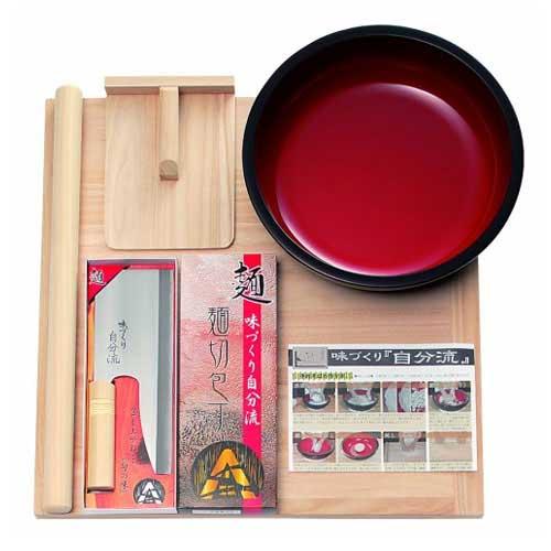 本格うどん・そば用 麺打ちセット 家庭用 (B) A-1280