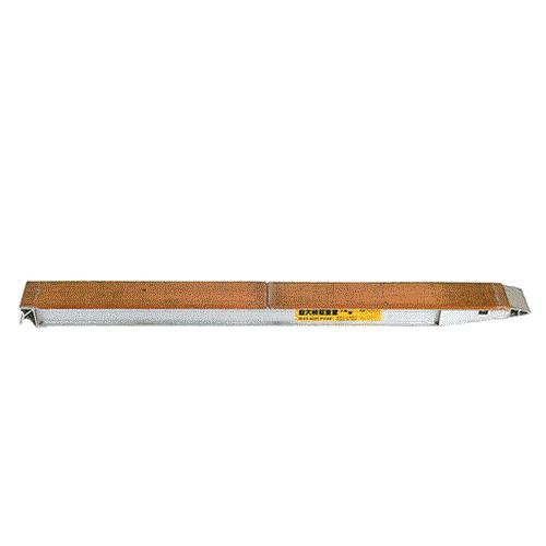 【今日の超目玉】 KB-220-30-12 2本組セット (210cm/幅30cm/荷重12t):ミナト電機工業 昭和ブリッジ アルミブリッジ-DIY・工具