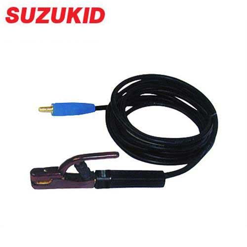スズキッド 安全ホルダ+M型プラグ付キャブタイヤ CC-386 (22SQ×10m) [スター電器 SUZUKID 溶接 溶接用アクセサリー]