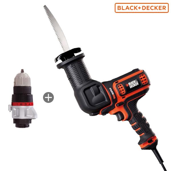 ブラック&デッカー マルチエボ・コード式マルチのこぎり EAR800