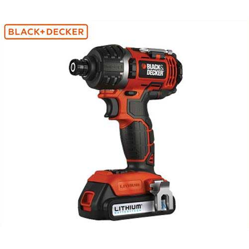 ブラック&デッカー 18V コードレスインパクトドライバー EXI18 [BLACK&DECKER ブラックアンドデッカー]