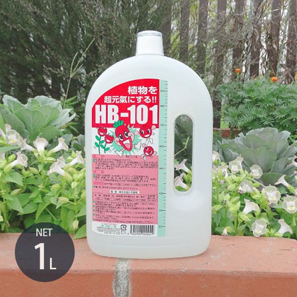 フローラ 天然活力剤 HB-101 1L (100%天然植物エキスの活力液) [1リットル HB101 植物活力剤 肥料 野菜作り 園芸 1リットル]
