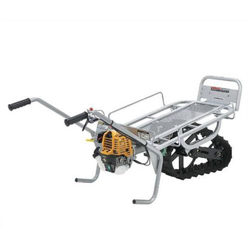 [最大1000円OFFクーポン] マキタ 一輪クローラー運搬車 くろ助 足固定タイプ RKI-81E4F (ロビン4ストエンジン) [エンジン式 動力運搬車]