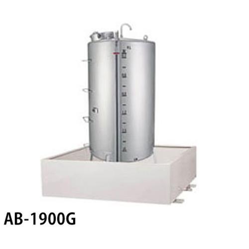 サンダイヤ 灯油タンク用 防油堤 AB-1900G (アルミ製/耐震仕様) 【返品不可】