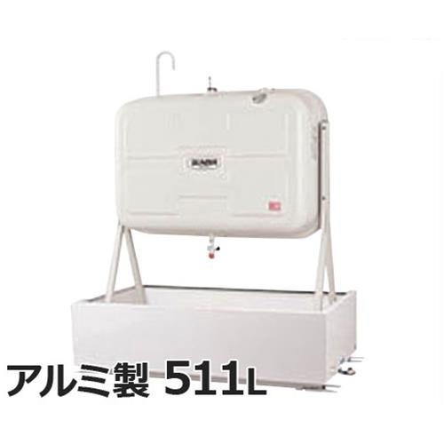 サンダイヤ 灯油タンク用 防油堤 ABH-500G (適用タンク:KS2-500/KS2-490/KM2-490) 【返品不可】