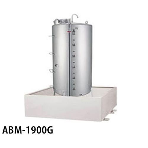 サンダイヤ 灯油タンク用 防油堤 ABM-1900G (アルミ製/耐震仕様) 【返品不可】