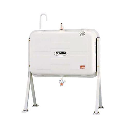 サンダイヤ 灯油タンク 200型 標準タイプ KS3-200SJ (鋼板製) 【返品不可】