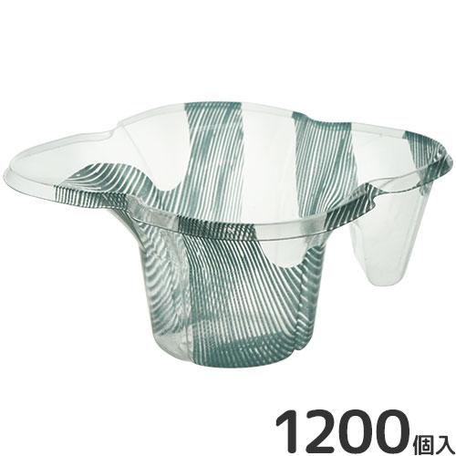 ハニー かき氷カップ 四つ葉カップ マーブル 1200個入り [プラカップ プラコップ プラスチックカップ]