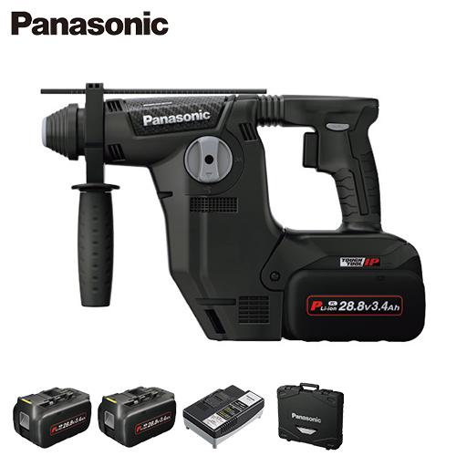 [最大1000円OFFクーポン] パナソニック 充電ハンマードリル EZ7881PC2S-B (電池2個・充電器・ケース付/集じんシステムなし) [Panasonic]