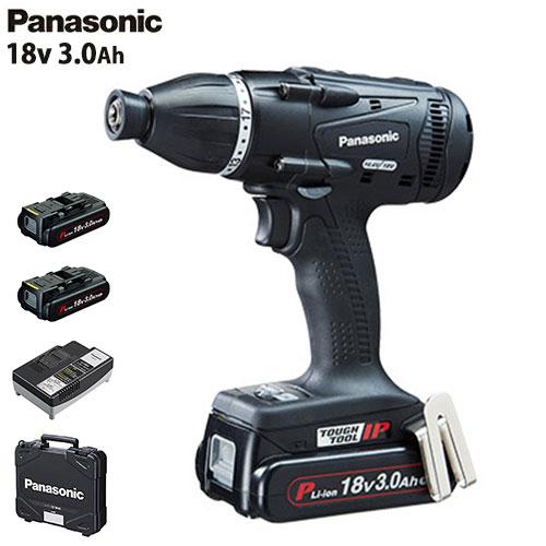 パナソニック 充電マルチインパクトドライバー 18V 3.0Ah EZ75A9PN2G-B (黒/電池2個+ケース付/14.4V・18V両用) [Panasonic]