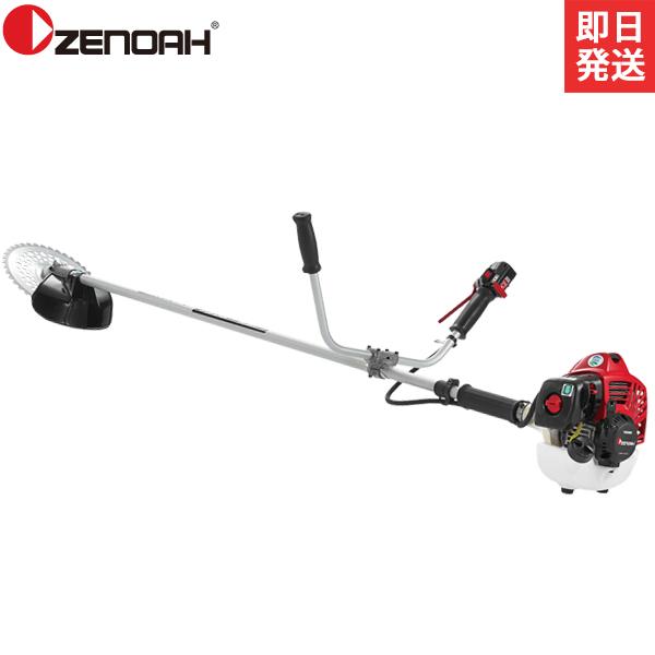 ゼノア 草刈り機 エンジン式 TRZ265W (両手ハンドル/25.4cc) [草刈機 刈払機 刈払い機 ZENOAH]