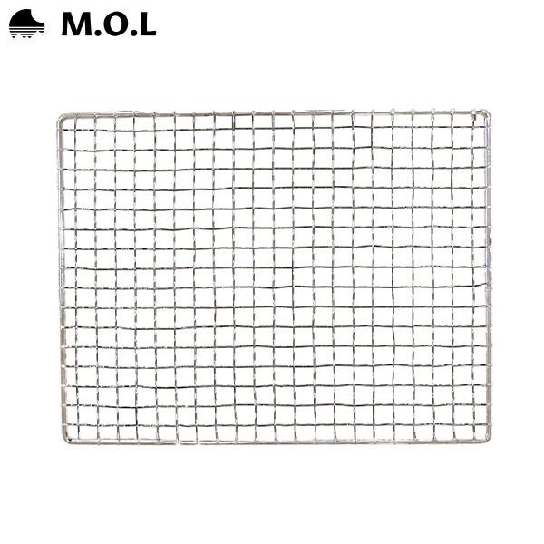 メール便可 業界No.1 在庫品 薪ストーブ 角型 r10 M.O.L MOL-W100用 店舗 焼き網 s1-000