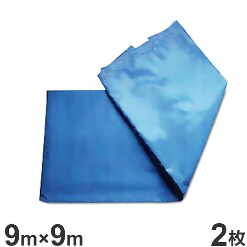 トキワ ブルーシート 9.0m×9.0m 2枚セット (#3000) [防水シート]