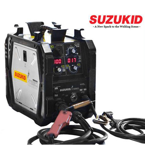 スズキッド インバーター半自動溶接機 SIG-140 (100V・200V兼用)