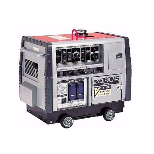 新ダイワ(やまびこ) ガソリンエンジン溶接機 EGW180MS-V (防音型/三電源対応) [エンジンウェルダー]