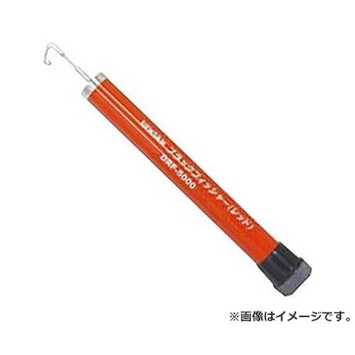 4937897017421 通線工具][r13][s2-100] DRF-5000 レッド ブラックフィッシャー デンサン [電設工具