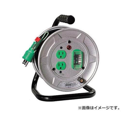 日動 電工ドラム 15A×10m NS-EB12 アース 4937305032046 [電工ドラム・コード 電工ドラム 10M][r13][s1-080]