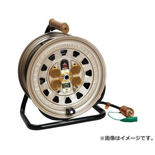 [電工ドラム・コード 30M][r13][s2-100] 電工ドラム サンタイガーリール ハタヤ(HATAYA) 30m GT-301KX 4930510204109