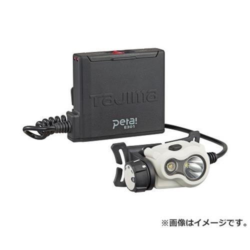 タジマ(Tajima) ペタ301ホワイト LE-E301-W 4975364165497 [ワークサポート サポート用品 照明 ヘッドライト][r13][s1-060]