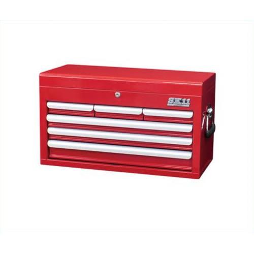 SRC-4060RE [工具箱 スチール製][r13][s2-160] 4977292299534 SK11 チェスト(4段6引出し)