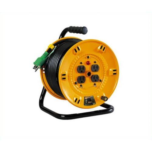 日動 電工ドラム 15A×20m NP-EB24 アース 4937305011553 [電工ドラム・コード 電工ドラム 20M][r13][s2-100]