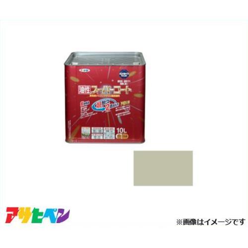 アサヒペン 油性スーパーコート 10L ソフトグレー [油性多用途 超耐久 サビドメ]