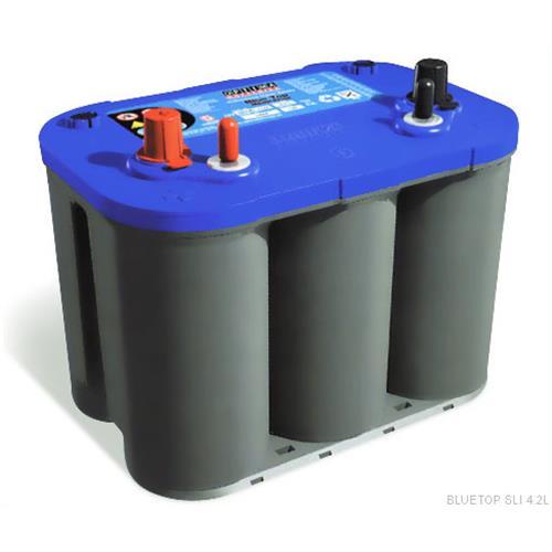オプティマ(OPTIMA) バッテリー ブルートップ (SLI 4,2L) [OPTIMA]