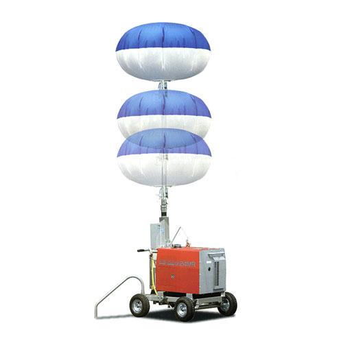 キタムラ産業 バルーン投光機 ハイピカバルーン KBL-100AQ (水圧昇降式/発電機無し) [灯光器]
