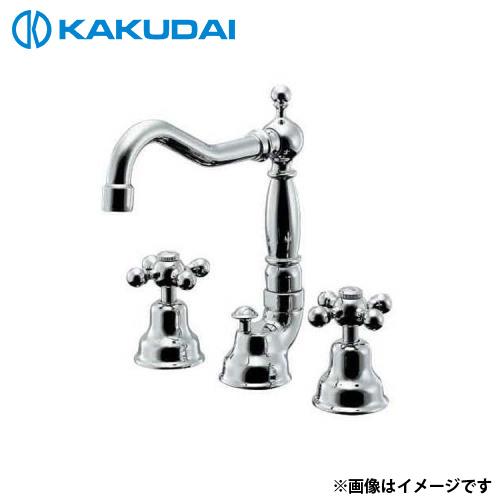 特別価格 カクダイ 2ハンドル混合栓 153-024:ミナト電機工業-木材・建築資材・設備