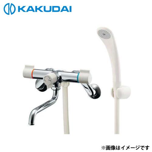 カクダイ 2ハンドルシャワー混合栓 139-017K