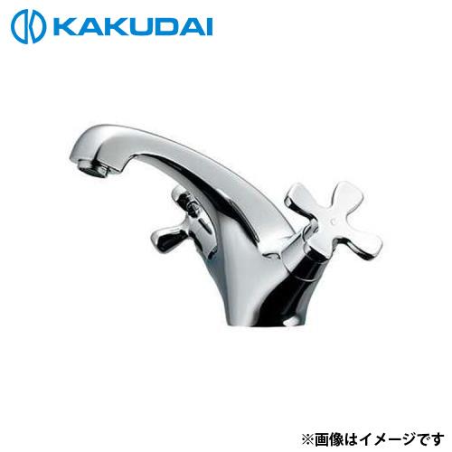カクダイ 2ハンドル混合栓 150-436